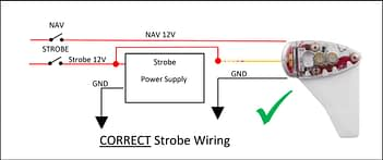 6 Way Strobe Light Wiring Diagram