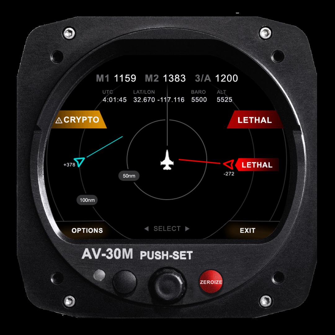 AV-30-M Control Head & Tactical Traffic Display