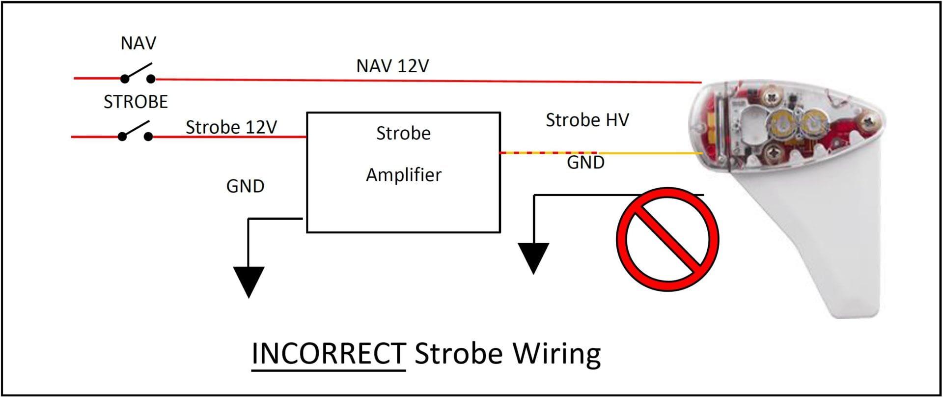 Strobe Wiring Diagram