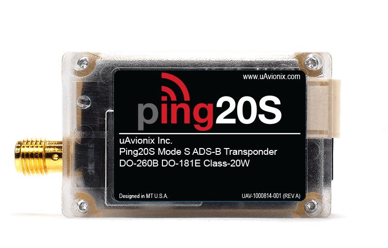 ping20S Mode S Transponder